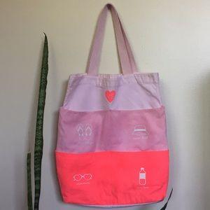 VS Victoria Secret Cotton Beach Shopper Bag
